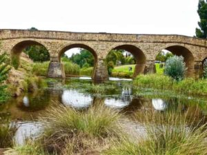 historic bridge in richmond tasmania