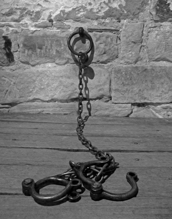 richmond gaol convict chain